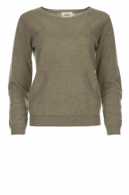 Not Shy | Cashmere sweater Charlotte | green  | Picture 1