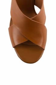 What For |  leather sandals Felix | camel  | Picture 6