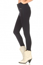 Aaiko |  Legging with pockets Solma | blue  | Picture 5