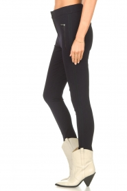 Aaiko |  Legging with pockets Solma | blue  | Picture 6