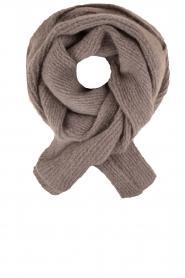 Ruby Tuesday | Wollen sjaal Hoa xl | grijs  | Afbeelding 1