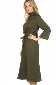 Essentiel Antwerp |  Dress Sapha | green   | Picture 5