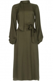 Essentiel Antwerp |  Dress Sapha | green   | Picture 1