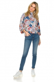 Essentiel Antwerp |  Floral top Saadiq | multi  | Picture 3