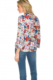 Essentiel Antwerp |  Floral top Saadiq | multi  | Picture 6