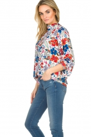 Essentiel Antwerp |  Floral top Saadiq | multi  | Picture 5