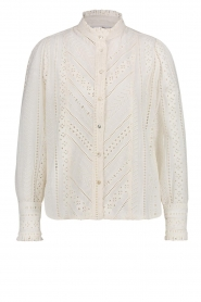 Aaiko    Broderie blouse Gitte   natural     Picture 1