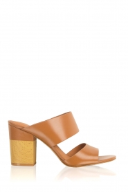 What For | Leren sandalen Chris | camel  | Afbeelding 1