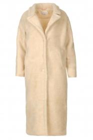 Aaiko    Teddy coat Suella   natural    Picture 1