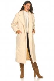 Aaiko    Teddy coat Suella   natural    Picture 4