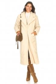 Aaiko    Teddy coat Suella   natural    Picture 3