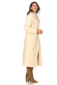 Aaiko    Teddy coat Suella   natural    Picture 5