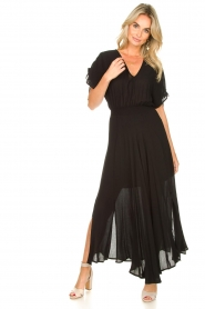 Louizon |  Maxidress Enael |black  | Picture 4