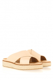 What For |  leather platform sandal Emily  | Picture 4