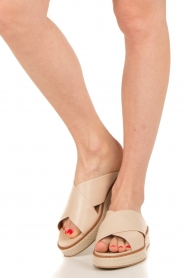 What For |  leather platform sandal Emily  | Picture 2