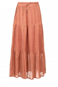 Louizon |  Maxi skirt Avibel | pink  | Picture 1