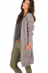 Woolen cardigan Hazel | grey