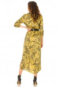 Aaiko | Midi-jurk met print Palma | groen  | Afbeelding 6