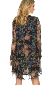 Essentiel Antwerp |  Floral dress Shambles | black   | Picture 6