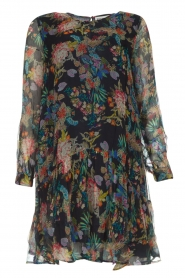 Essentiel Antwerp |  Floral dress Shambles | black   | Picture 1
