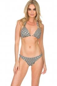 OndadeMar | Bikini Amapola | zwartwit  | Afbeelding 2