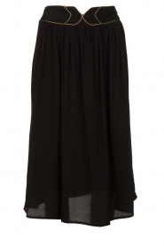 Louizon |  Midi skirt Dolan | black  | Picture 1