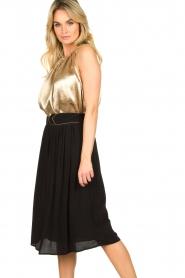 Louizon |  Midi skirt Dolan | black  | Picture 4