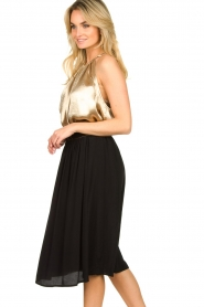 Louizon |  Midi skirt Dolan | black  | Picture 6