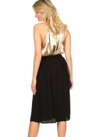 Louizon |  Midi skirt Dolan | black  | Picture 7
