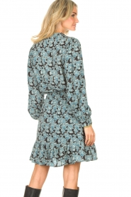 Aaiko |  Blouse with paisley print Pillar | blue  | Picture 6