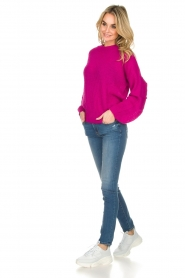 Essentiel Antwerp |  Sweater Shanghai | pink  | Picture 3
