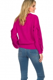 Essentiel Antwerp |  Sweater Shanghai | pink  | Picture 5