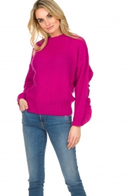 Essentiel Antwerp |  Sweater Shanghai | pink  | Picture 2