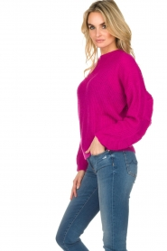 Essentiel Antwerp |  Sweater Shanghai | pink  | Picture 4