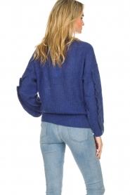 Essentiel Antwerp |  Sweater Shanghai | blue  | Picture 6