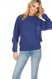 Essentiel Antwerp |  Sweater Shanghai | blue  | Picture 4