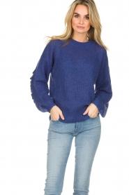 Essentiel Antwerp |  Sweater Shanghai | blue  | Picture 2