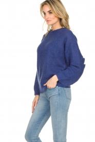 Essentiel Antwerp |  Sweater Shanghai | blue  | Picture 5