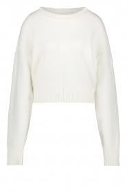 Aaiko |  Basic knitted sweater Molly | natural   | Picture 1