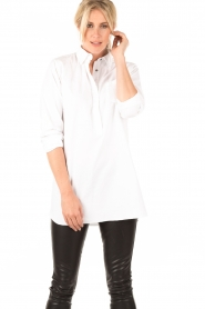 Ruby Tuesday | Blouse Juno | wit  | Afbeelding 2