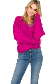 Essentiel Antwerp |  Sweater Singapore | pink  | Picture 2