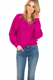 Essentiel Antwerp |  Sweater Singapore | pink  | Picture 4
