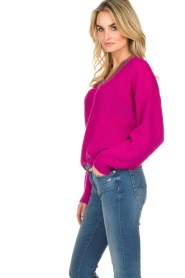 Essentiel Antwerp |  Sweater Singapore | pink  | Picture 5