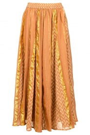 Louizon |  Maxi skirt Howler | nude  | Picture 1