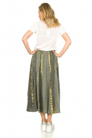 Louizon |  Maxi skirt Howler | green  | Picture 5