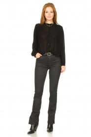 Aaiko    Transparent blouse Zoya   black    Picture 3