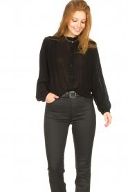 Aaiko    Transparent blouse Zoya   black    Picture 5