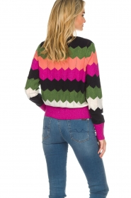Essentiel Antwerp |  Zigzag sweater Susan | multi  | Picture 6