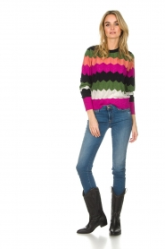 Essentiel Antwerp |  Zigzag sweater Susan | multi  | Picture 3
