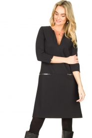 D-ETOILES CASIOPE |  Travelwear dress Vruc | black  | Picture 2